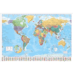 World map Poster 257917