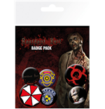Resident Evil Badge Pack - Mix