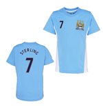 Official Man City Training T-Shirt (Sky Blue) (Sterling 7)