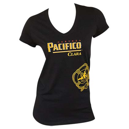PACIFICO Ladies V-Neck Tee Shirt