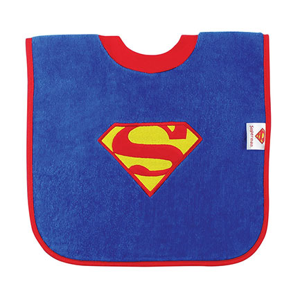 SUPERMAN Pullover Bib