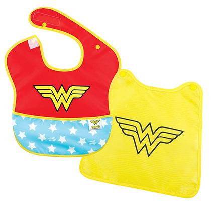 WONDER WOMAN Caped Bib