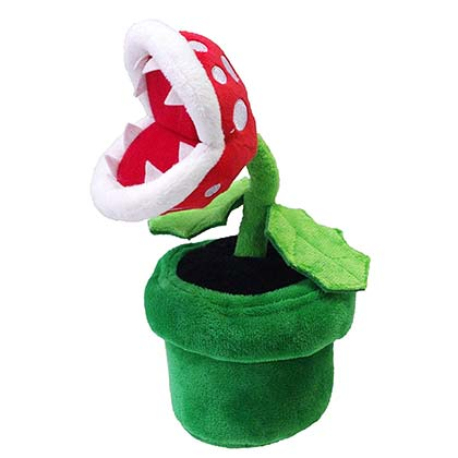 Super MARIO Bros Piranha Plant Plush Doll