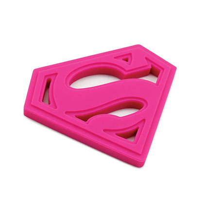 SUPERMAN Pink Teether