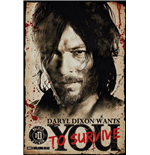 The Walking Dead Poster - Daryl Needs You - 61 x 91,5 cm