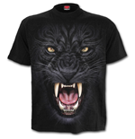 Tribal Panther - T-Shirt Black