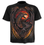 Dragon Furnace - Kids T-Shirt Black