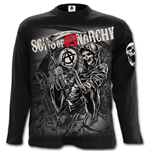 Reaper Montage - Sons of Anarchy Longsleeve Black