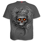 Roots Of Hell - T-Shirt Charcoal