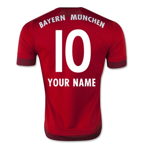 2015-16 Bayern Munich Home Shirt (Your Name)