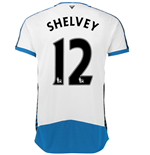 2015-16 Newcastle Home Shirt (Shelvey 12)