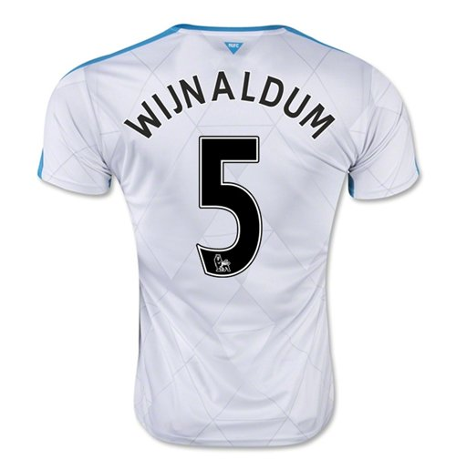 2015-16 Newcastle Away Shirt (Wijnaldum 5) - Kids