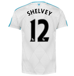 2015-16 Newcastle Away Shirt (Shelvey 12) - Kids