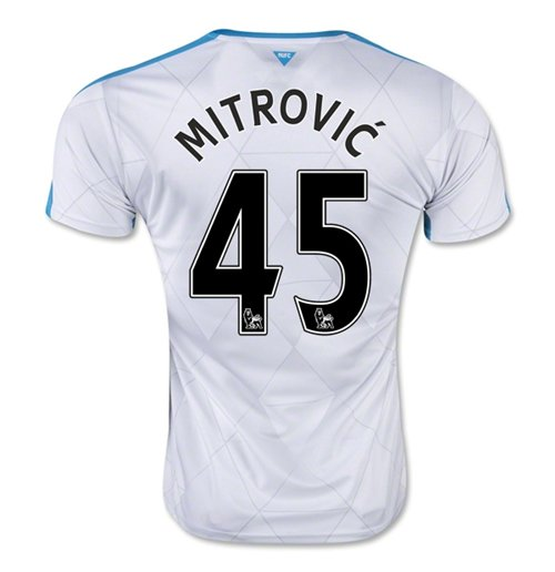 2015-16 Newcastle Away Shirt (Mitrovic 45) - Kids