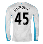 2015-16 Newcastle Away Long Sleeve Shirt (Mitrovic 45)