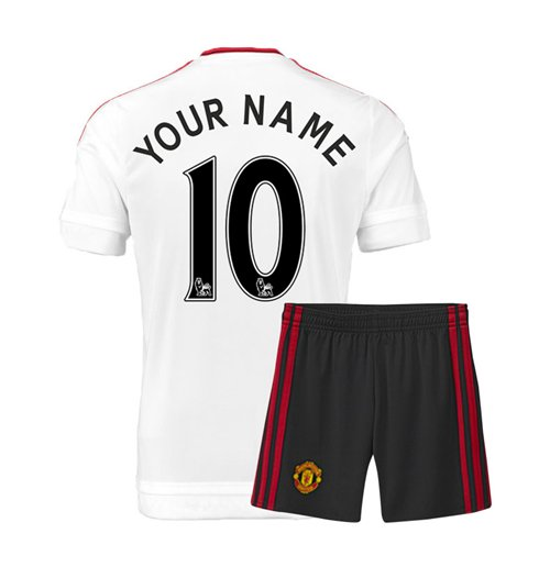 2015-16 Man Utd Away Mini Kit (Your Name)
