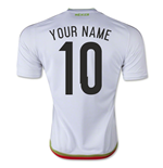 2015-2016 Mexico Adidas Away Shirt (Your Name)