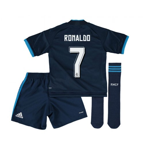 huge discount 78d2d 70914 2015-2016 Real Madrid Third Mini Kit (Ronaldo 7)