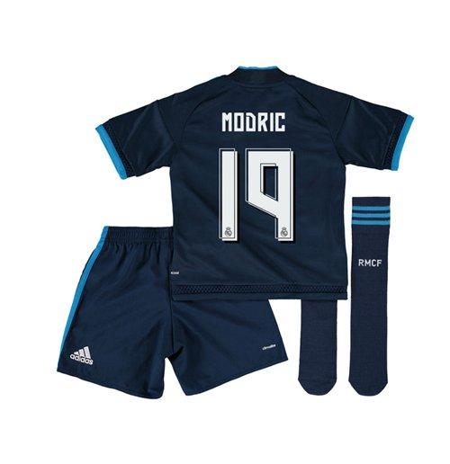 best loved 3cee6 69917 2015-2016 Real Madrid Third Mini Kit (Modric 19)