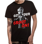 Guardians Of The Galaxy Vol 2 - Get Your Groot On - Unisex T-shirt Black