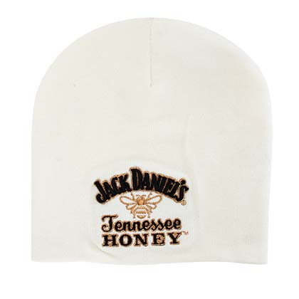 JACK DANIELS White Tennessee Honey Logo Beanie