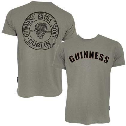 GUINNESS Bottle Cap Tee Shirt