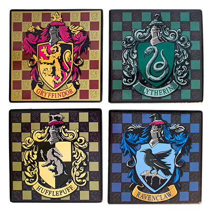 HARRY POTTER Hogwarts Coasters