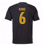 2016-17 Atletico Madrid Away Shirt (Koke 6) - Kids