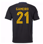 2016-17 Atletico Madrid Away Shirt (Gameiro 21) - Kids