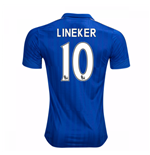 2016-17 Leicester City Home Shirt (Lineker 10) - Kids