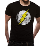 The Flash T-Shirt Distressed Logo