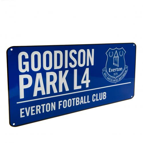 Everton F.C. Street Sign BL