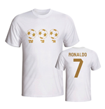 Ronaldo Player of the Year Tee (White)