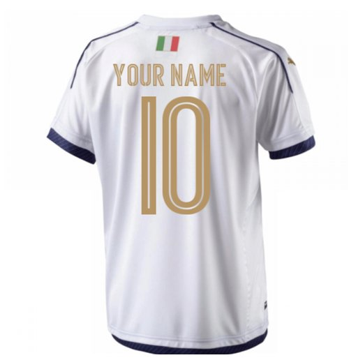2006 Italy Tribute Away Shirt (Your Name)