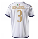 2006 Italy Tribute Away Shirt (Romagnoli 3)