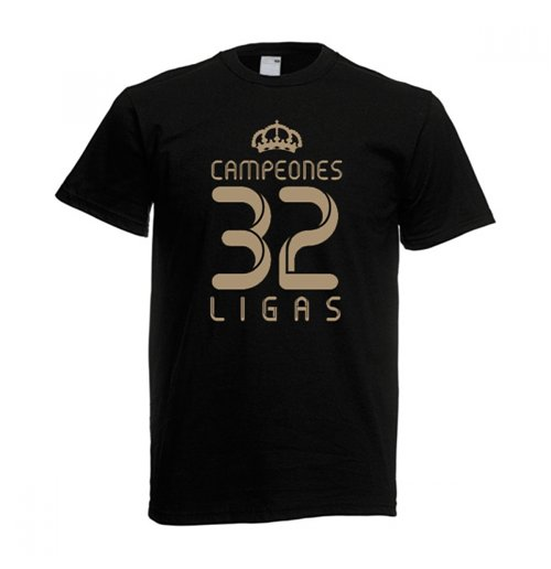 2012 Real Madrid Champions T-Shirt (Black)