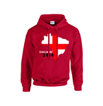 England 2014 Country Flag Hoody (red)