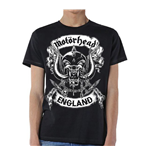 Motorhead Men's Tee: Crossed Swords England Crest