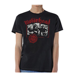 Motorhead Men's Tee: Stamped