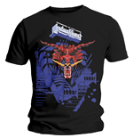 Judas Priest Men's Tee: Defenders Blue