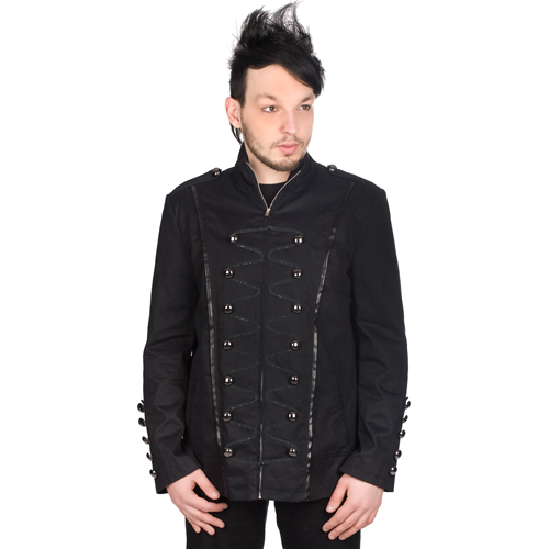 Black Pistol Admiral Jacket Denim