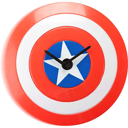 Captain America Wobble Wall Clock