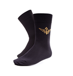 Zelda - Socks with Golden Triforce Logo