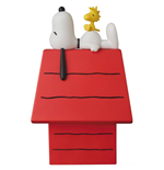 Peanuts VCD Vinyl Figure Snoopy, Woodstock & Dog House 15 cm