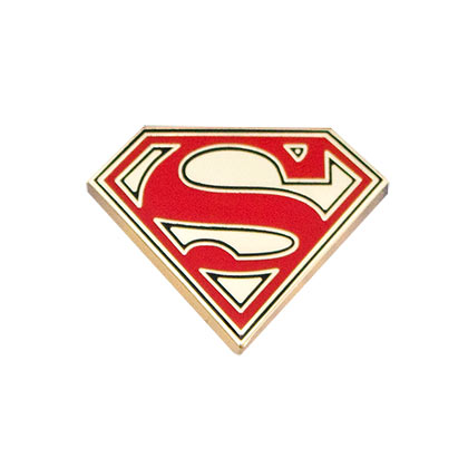 SUPERMAN Gold Lapel Pin