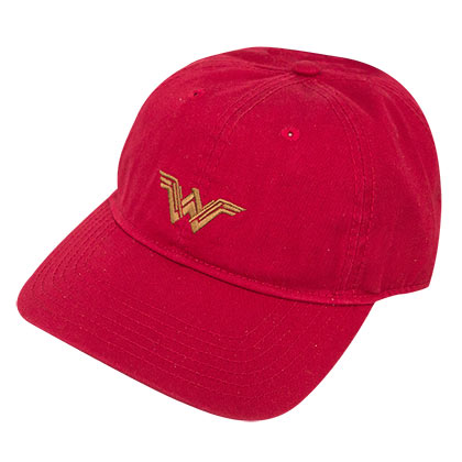 WONDER WOMAN Red Dad Cap