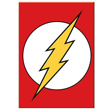 The FLASH Logo Magnet