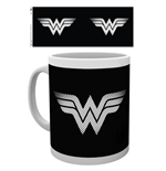 Dc Comics - Wonder Woman Monotone Logo Mug