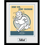 Fallout Framed Print - Stay Fit