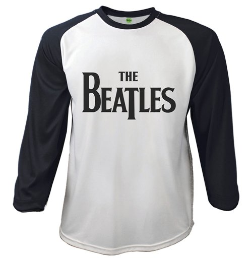 The Beatles T-shirt - Raglan Baseball Drop T Logo